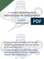 Principios Generales de La Administraci+_n de Medicamentos