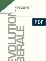 Gobetti, Piero - La révolution libérale