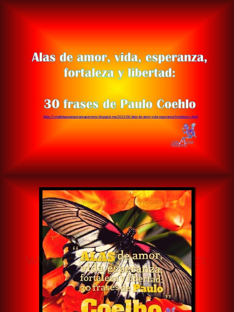 30 Frases De Paulo Coelho