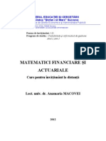 Mat.financiare Si Actuariale - A.G.macoVEI