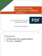 CLASE 7. Hechura de Políticas