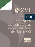 XVISeminario de Ética Económica y Empresarial