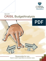CRISIL_Budget Analysis 2013-14