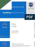 Presentación de Microsoft Dynamics CRM - ATX [Autosaved]