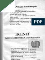 Freinet Evolução histórica e atualidades cap 3 e 4
