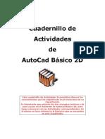 53681289 Cuadernillo de Ejercicios AutoCad 2D