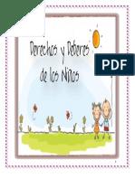 DEBERES Y DERECHOS EN LOS NIÑOS