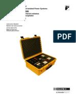 Instr Bull_GFL-1000 Analyzer for Hospital Ungrounded Isolate