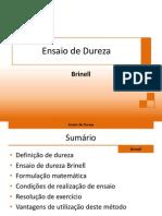 Ensaio de Dureza - Brinell