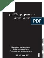 Yamaha NP 60-80 Manual Español