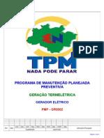 PMP-GR0002 - Gerador Eletrico