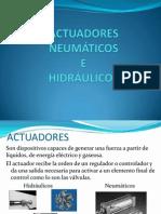 ACTUADORES NEUMÁTICOS                        E