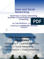 Openness and Social Networking Slide Show