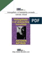 Artaud, Antonin -  Heliogábalo o el anarquista coronado