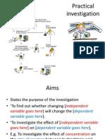 practical investigation