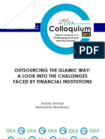 Outsourcing the Islamic Way a Look Into the Challenges Faced by Financial Institutions (ISRA)