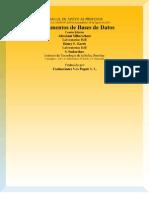 Fundamentos de Bases de Datos - Manual de Apoyo Al Profesor