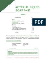 ANTIBACTERIAL LIQUID SOAP F-487 188