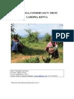1. Naibunga Conservancy Trust Laikipia Kenya