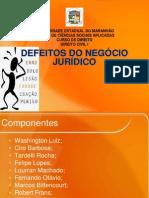 DEFEITOS DO NEGÓCIO JURÍDICO - completo