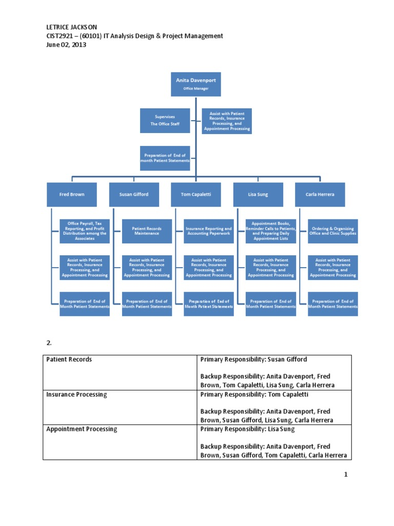 system analysis and design case study answers