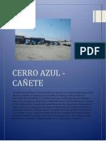 Materiales Cerro Azul