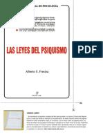 Alberto E. Fresina - Las Leyes Del Psiquismo