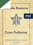 Rosacruz Heindel Curso Preliminar de Filosofia Rosacruz