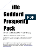 Neville Goddard Prosperity Pack Intro Giveaway
