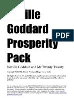 Neville Goddard Prosperity Pack Intro Giveaway