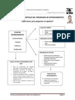 Pilares Fundamentales Del Programa de Entrenamiento