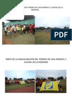 Inauguracio Del Xxii Torneo de Liga Infantil Lr