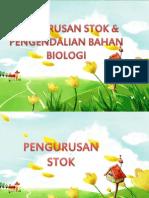 Pengurusan Stok & Pengendalian Bahan Biologi