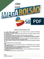 Megabolsao Prova 2011 7 Ano