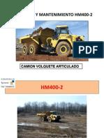 OPERACIÓN Y MANTENIMIENTO HM400-2