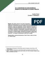 Tese de Doutorado - Adolescência e Saúde Pública