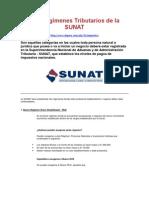 Los Regímenes Tributarios de la SUNAT.docx