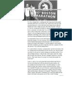 (Boston Marathon) MPS Society 'Courage' Article