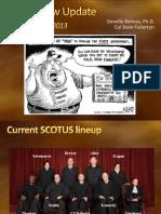 Media Law Update 2013