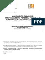 Presentación de Agricultura, Ganadería, Aprovechamiento Forestal, Pesca y Caza