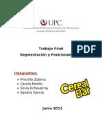 Segmentación Cereal Bar