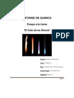 Informe de Quimica Benjmin Sanhueza