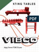 Vibco Vibrating-Tables Datasheet