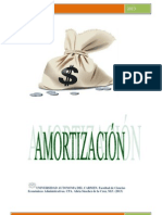 Amortizacion y Depreciacion