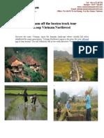 Loop Vietnam Northwest - Vietnam off the beaten track tour