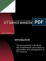 ICT SERVICE MANAGEMENT PRIMER