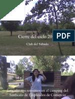 Cierre Del Ciclo 2008