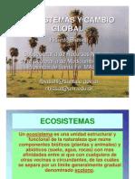 Ricardo Biassati - Ecosistemas y Cambio Global