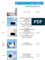 2011 Newest Catalogue -- Dental Equipment