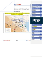Strategic Plan - Comparison between Jan and May Versions